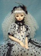 Лепка «японской» куклы на шарнирах