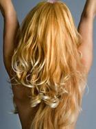 Блондинка в состоянии души!