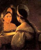«Раз в крещенский вечерок девушки гадали…»