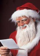 Добрый Дедушка Мороз, борода из ваты