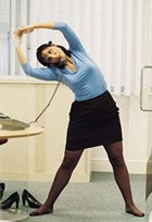 Повороты с поднятой ногой, или Как выжить в условиях офиса
