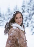 Можно быть красивой даже зимой