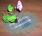 Зеленая салфетка