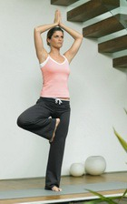 Упражнения йоги против аллергии