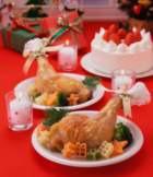 Блюда для праздничного стола. Новогодняя курица