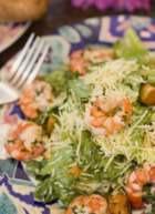 Праздничные салаты из морепродуктов