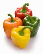 Пиршество разноцветных перцев