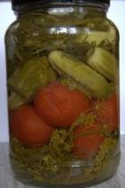 Домашнее консервирование. Часть 3. Салаты и закуски с помидорами и огурцами
