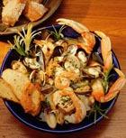 Оригинальные салаты из морских продуктов. Часть 2