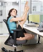 Как похудеть в условиях офиса. Программа вторая