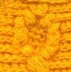 Желтый колпачок и варежки