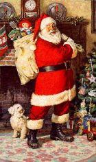 Санта-Клаус и Снежная дева