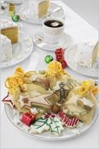 Напитки, десерты и выпечка к Новому году