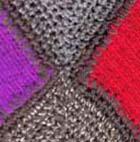 Юбка с цветными квадратами