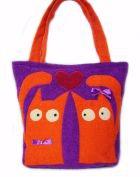 Летняя сумка «Влюблённые коты»