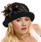 Летняя шляпка «Ночь»