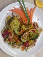 Вкусный способ съесть 5 овощей: карри с морепродуктами