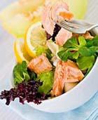 Салаты с рыбой и морепродуктами. Часть 1