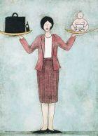 Домохозяйка или офисная леди?