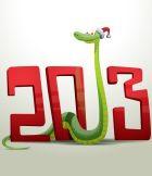 Встречаем 2013-й – год Змеи