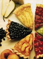 Сладкая выпечка с ягодами и фруктами. Часть 3