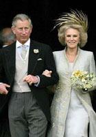 Свадебный наряд Камиллы Паркер Боулз ...