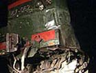 В Северной Осетии поезд подорвался на мине