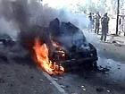 ЧП в Москве - взорван автомобиль BMW, водитель скончался