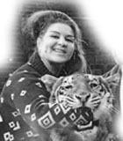 Скончалась первая в СССР дрессировщица тигров Маргарита Назарова