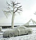 Северная столица страдает от мороза