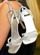 Туфли из ювелирных украшений