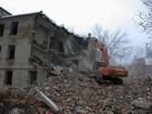 В центре Москвы обрушилась крыша трехэтажного здания