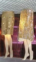 Выставка юбок Prada