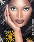 Почтовая марка Наоми Кэмпбелл
