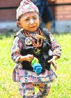 Самый маленький человек живет в Непале