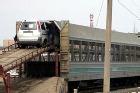 По маршруту Москва-Петербург пущен поезд, в котором можно перевозить свои машины