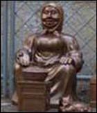 Памятник бабушке, торгующей семечками