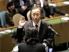Новый генсек ООН присягнул