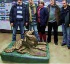 В московском метрополитене теперь есть памятник собаке