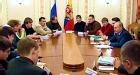 Владимир Путин встретился с молодыми писателями в Ново-Огарево
