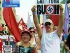 Бразильцы встретили Буша акциями протеста