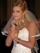 На свадьбе Волочкова поразит нарядами