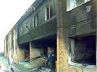 Пожар в доме престарелых около города Ейска - погибли 62 человека