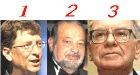 В тройке самых богатых людей мира изменения – на втором месте мексиканец Слим