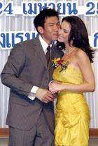 Мисс Вселенная-2005  станет женой тайского теннисиста