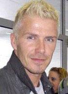 Дэвид Бэкхем стал блондином