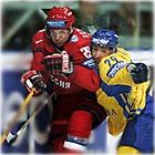 Сборная России по хоккею во второй раз разгромила соперников, теперь - украинцев