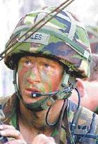 Иракские боевики готовятся к встрече принца Гарри