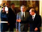 Владимир Путин провел переговоры с премьером Португалии