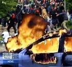 В ходе беспорядков в германском Ростоке арестовано 125 антиглобалистов